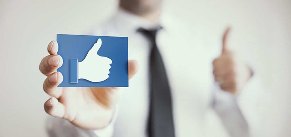 E-Commerce and Social Media: How to Drive Positive Engagement facebook like symbol